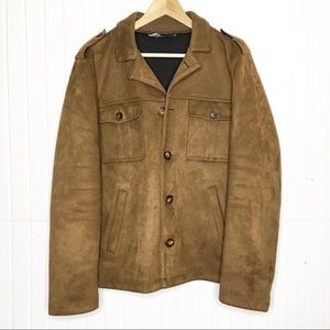 Zara Man | Faux Suede Jacket